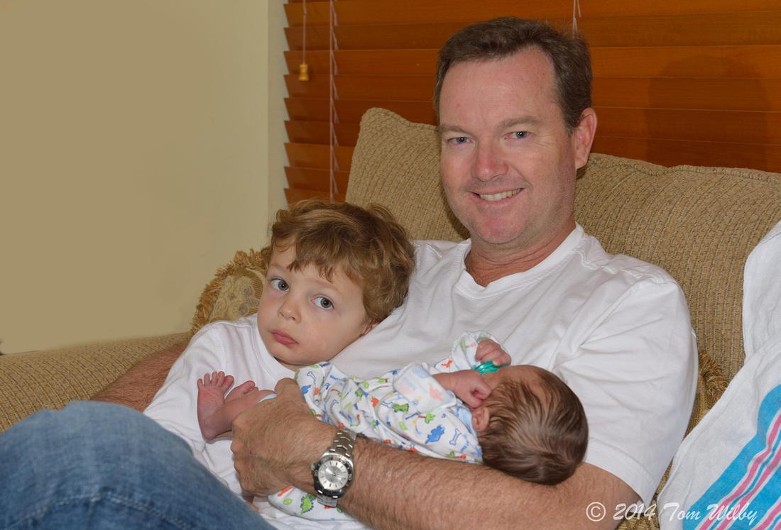 Finn Harrison Wilby, born January 13, 2014, 9:35 AM!!