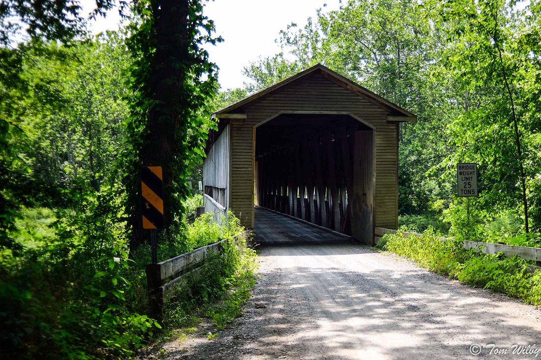 Middle Road Bridge, built in 1868.