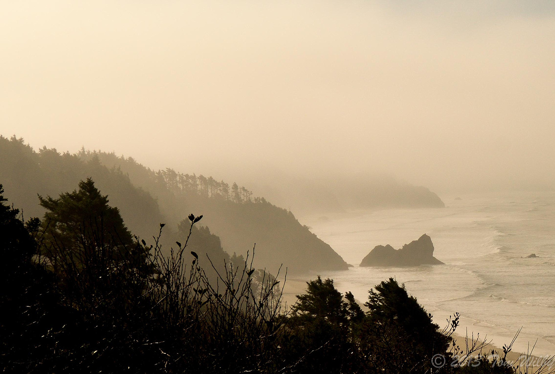 This time of year fog can form any time during the day.