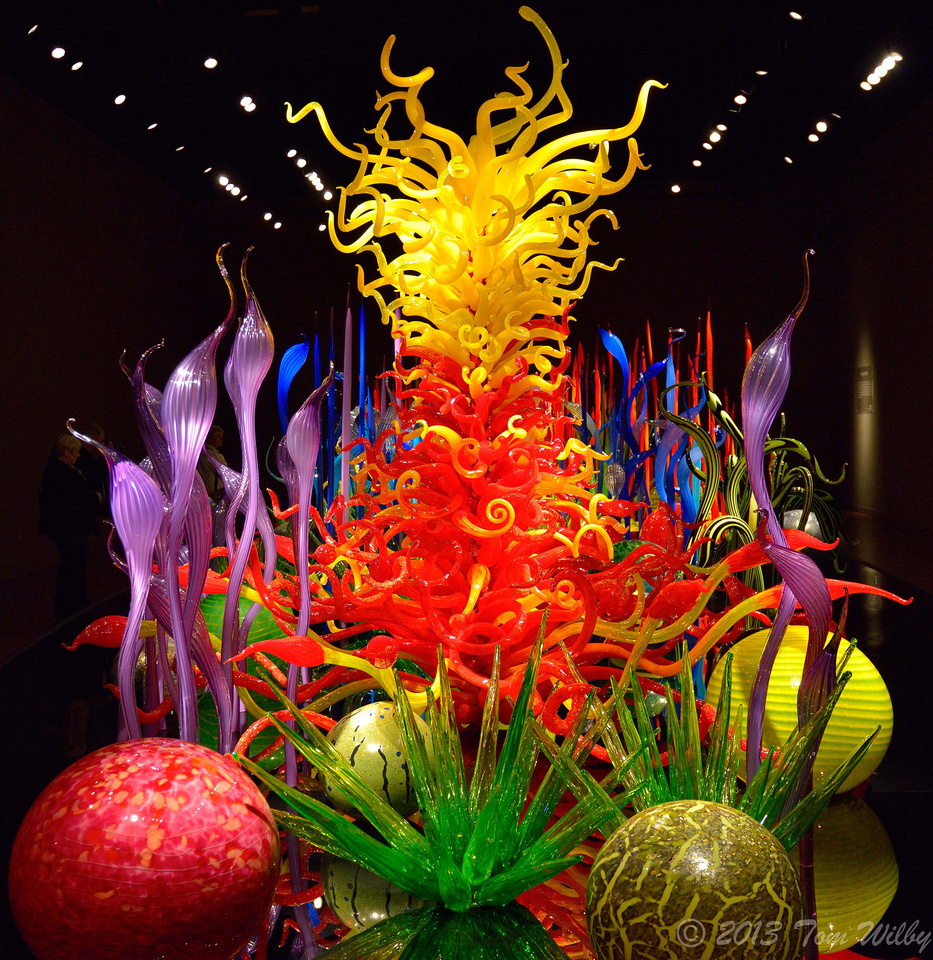 Chihuly Garden & Glass Exhibit
