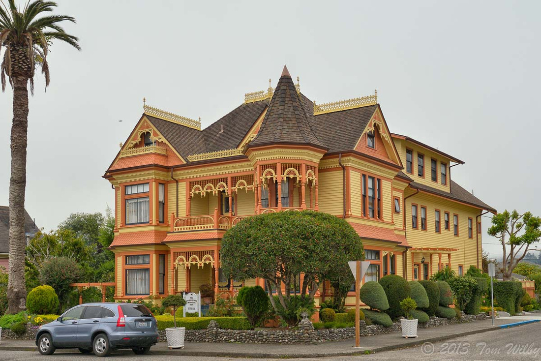 Ferndale, California, a victorian town.